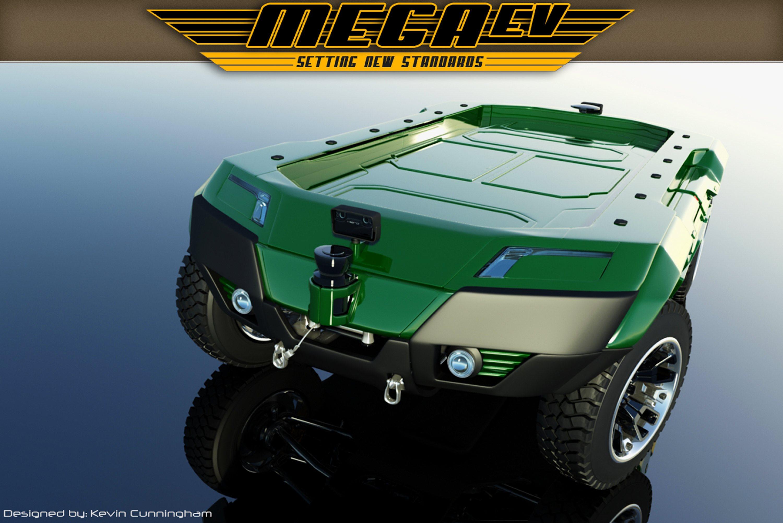 Mega UGV Mega Engineering Vehicle