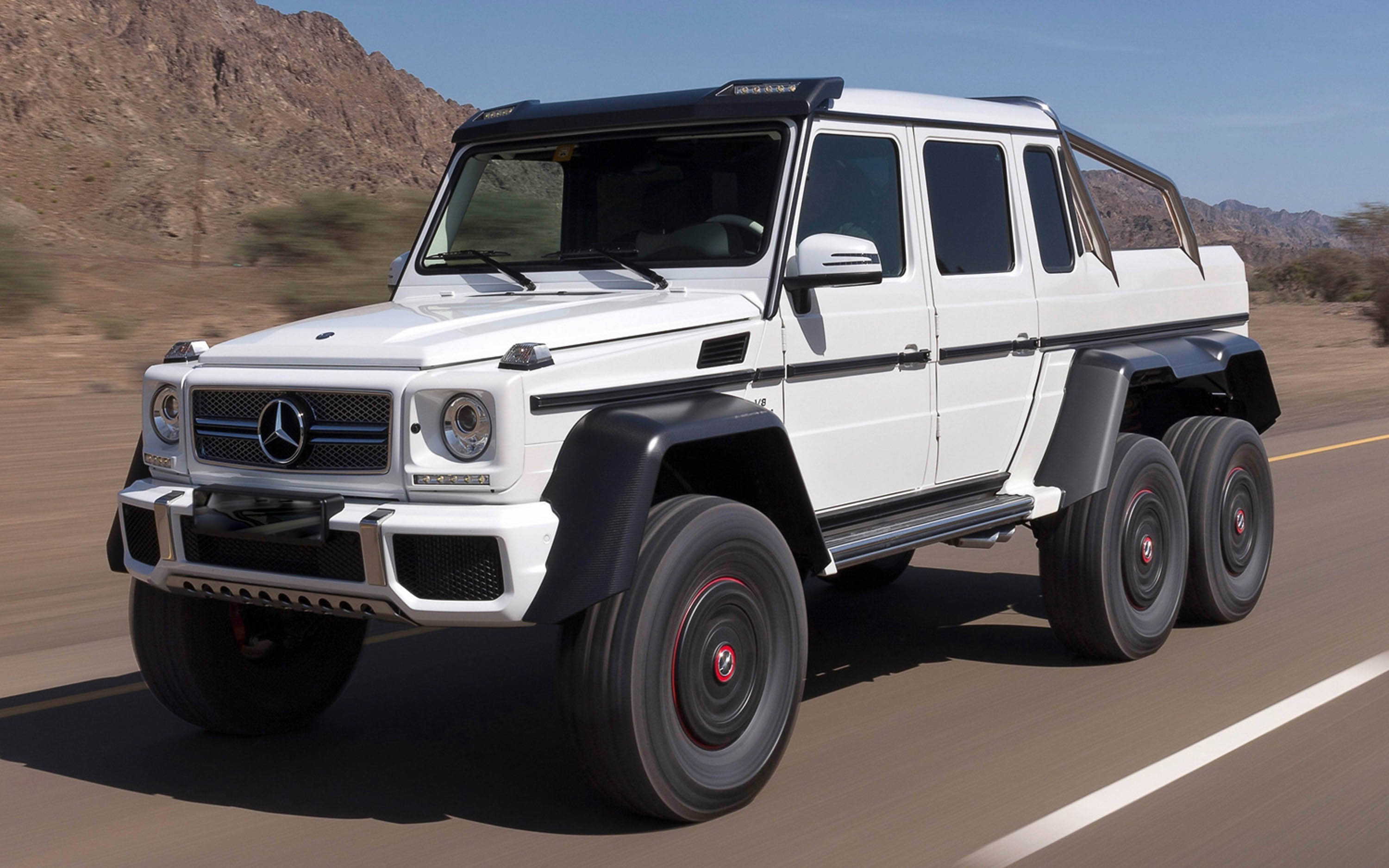 Mercedes g63 amg 6x6 mega engineering vehicle for Mercedes benz g 63
