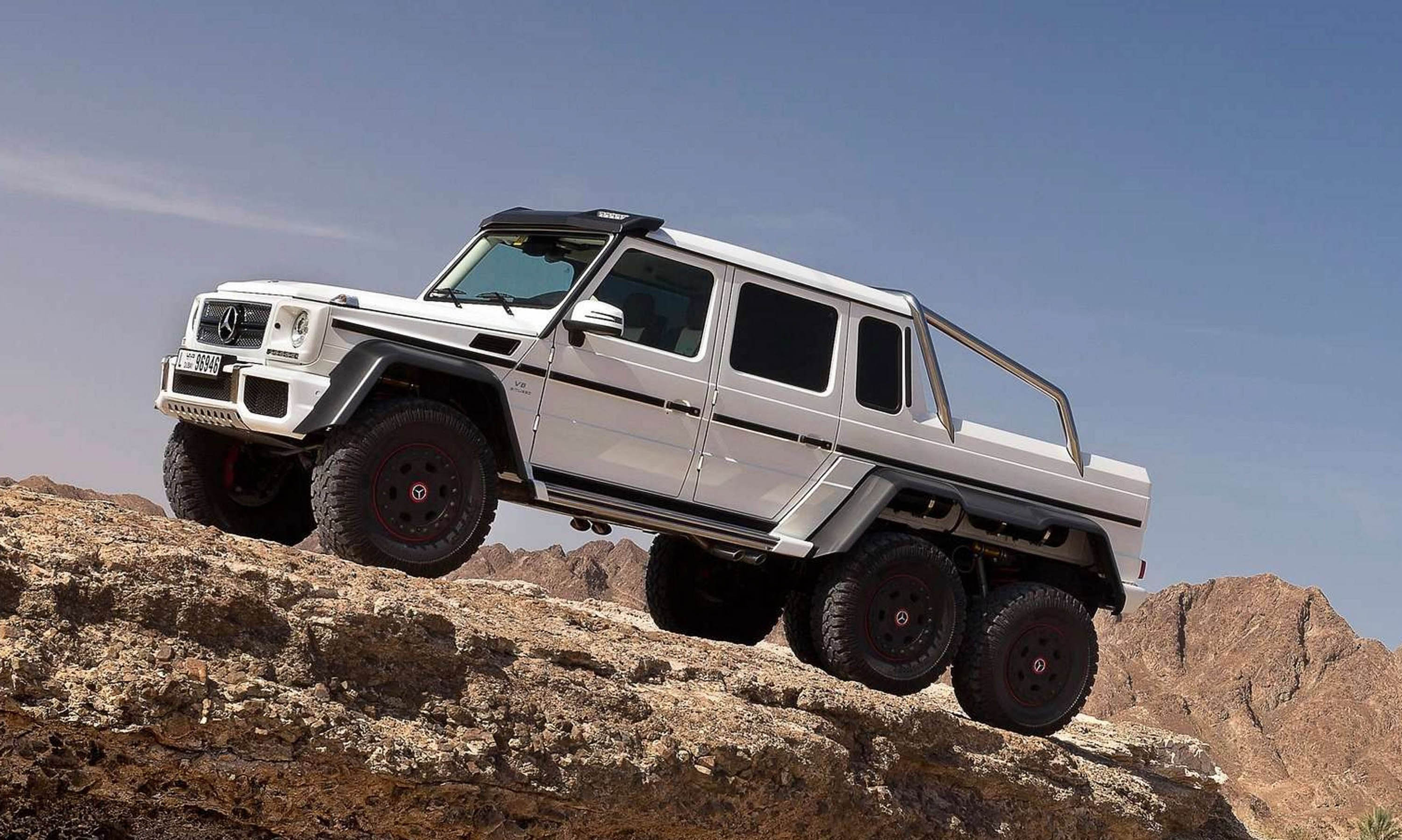 Mercedes G63 Amg 6x6 Mega Engineering Vehicle