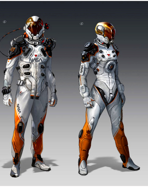 astronaut suit concept - photo #29