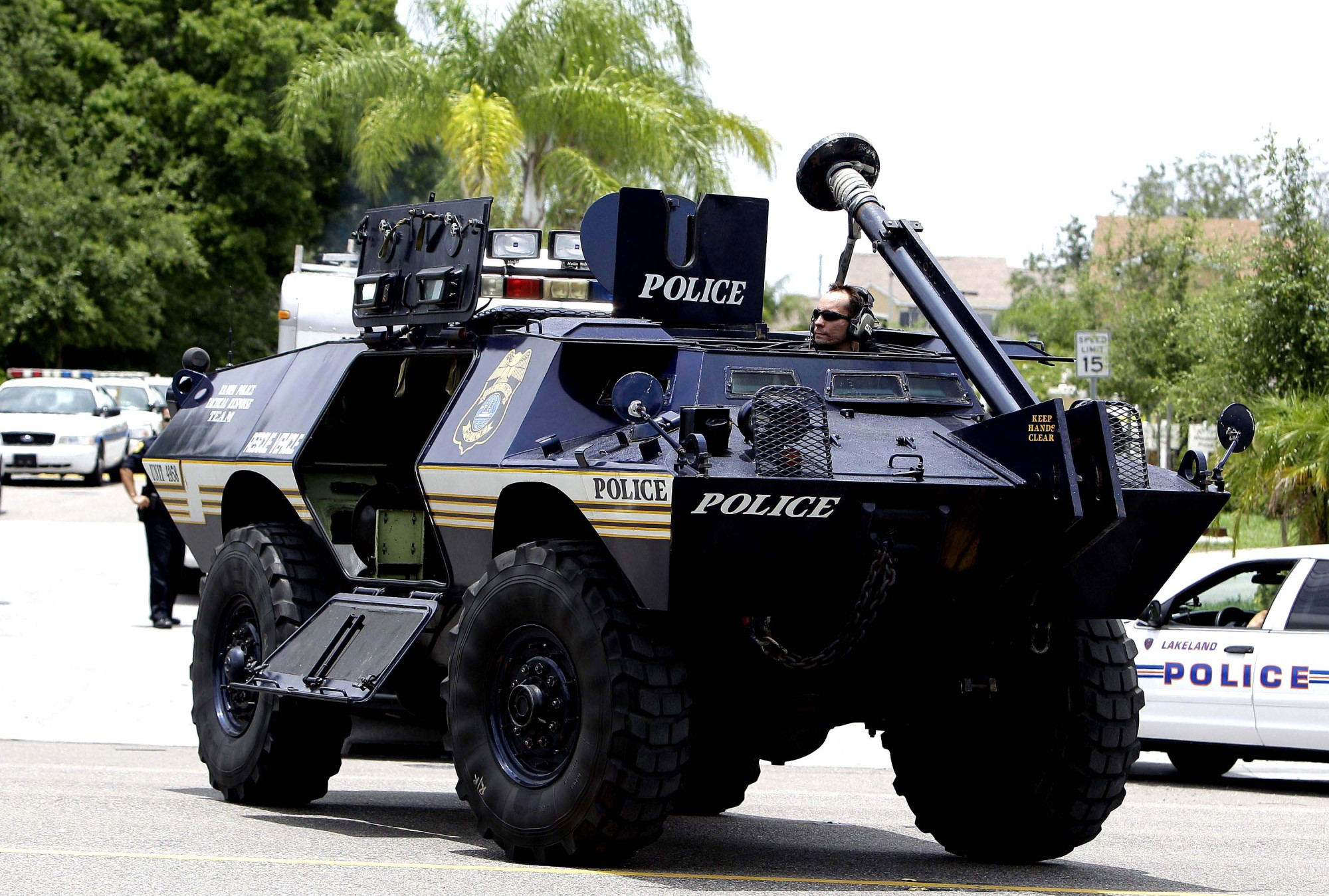 the possible impact of police militarization in america Strategic informer: student publication of the strategic intelligence society volume 1|issue 3 article 5 september 2013 the impact of police militarization in america.