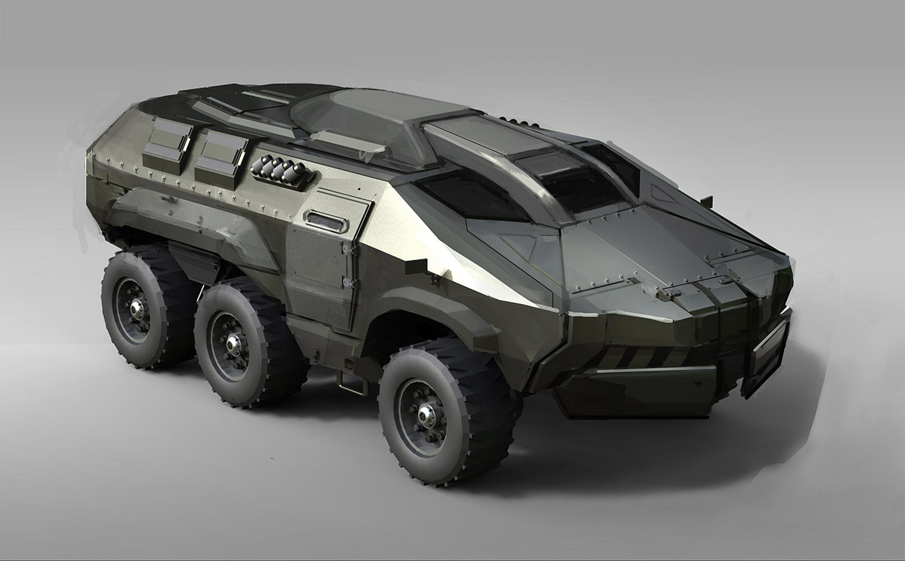 Modern Military Vehicles- Mega Engineering Vehicle