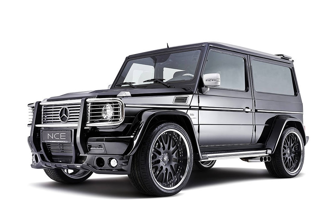 Mercedes g63 wagon blk mega for Mercedes benz g wagon g63