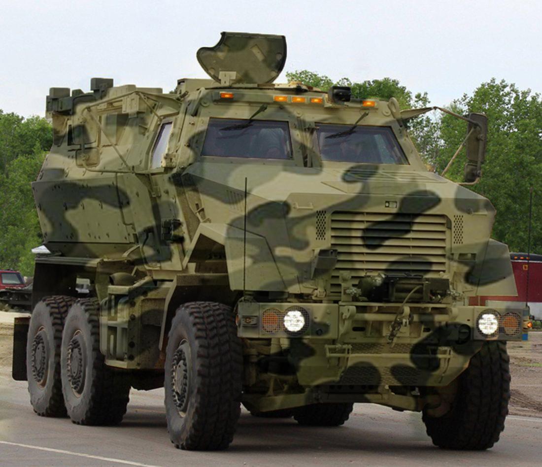 APC 6X6 - Mega Engineering Vehicle Inc