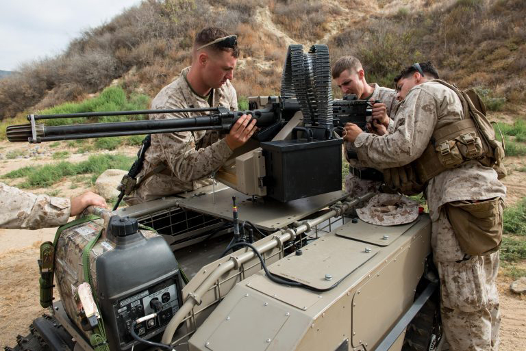 LASER GUIDED VEHICLES (LGVs) - UNMANNED GROUND VEHICLES (UGV)