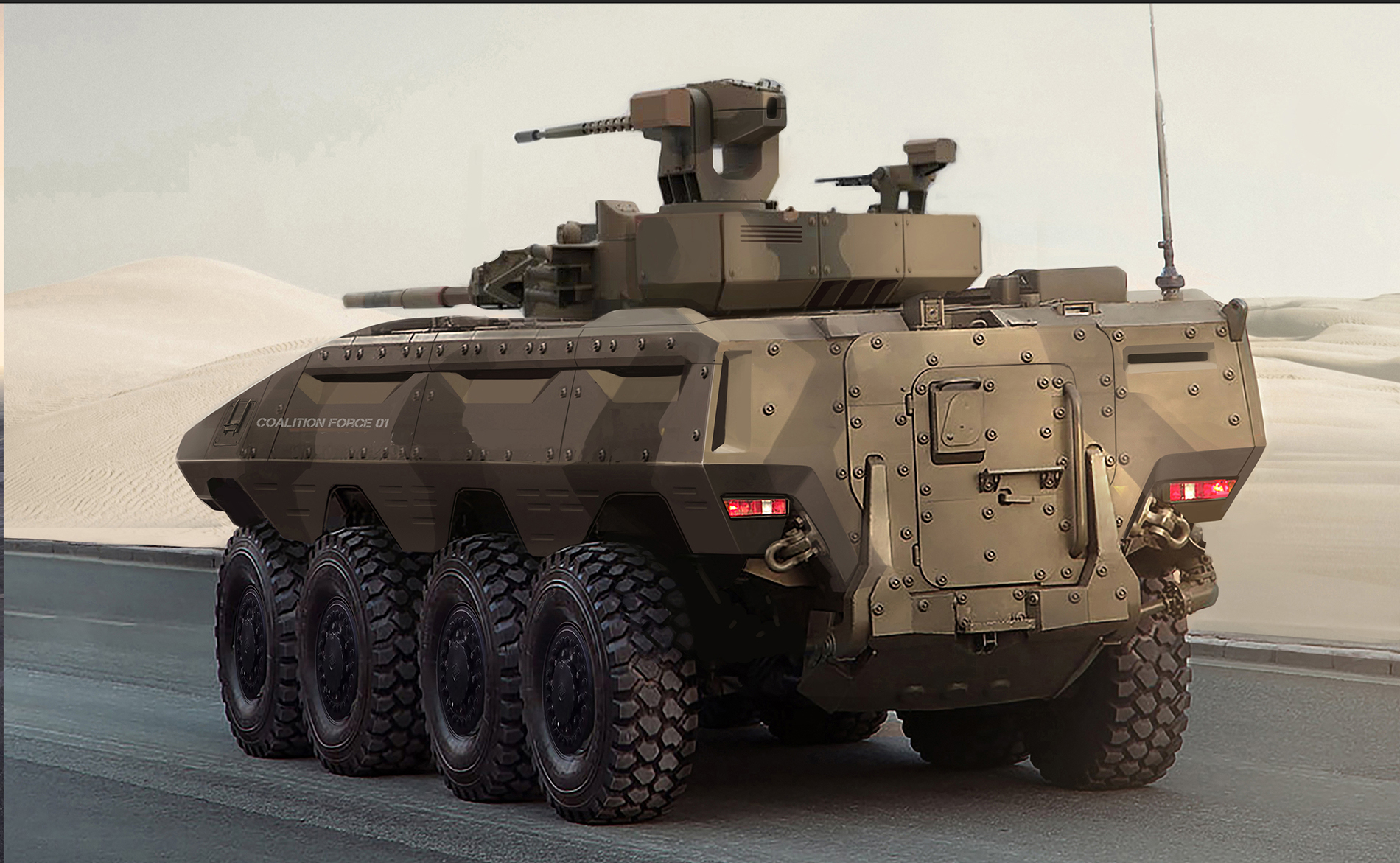 Mega Advanced Military Vehicles Automotive Design
